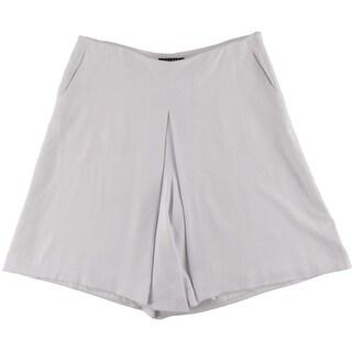 Lauren Ralph Lauren Womens Pleated Knee-Length Skort