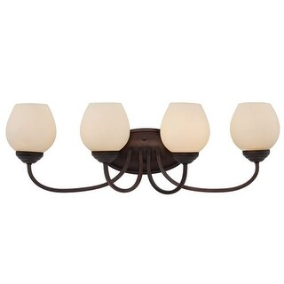 Trans Globe Lighting 70534 Clarissa 4 Light Bathroom Vanity Light