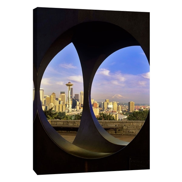 "PTM Images 9-108895 PTM Canvas Collection 10"" x 8"" - ""The Great Northwest A"" Giclee Cityscapes Art Print on Canvas"