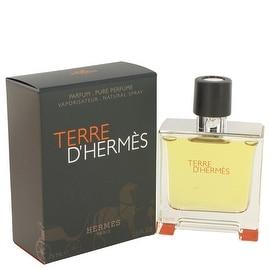 Terre D'Hermes by Hermes Pure Pefume Spray 2.5 oz - Men