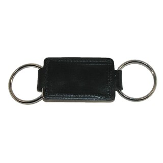 Boston Leather Leather Valet Key Fob - One size