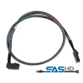 Adaptec Cable 2280200-R 8m Internal Right-Angle miniSAS SFF-8643 to miniSAS SFF-8087 Bare