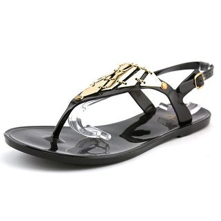 Fahrenheit Kay-04 Women Open Toe Synthetic Black Flip Flop Sandal
