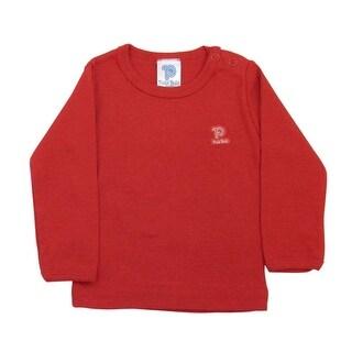 Baby Long Sleeve Shirt Unisex Infants Classic Tee Pulla Bulla Sizes 0-18 Months
