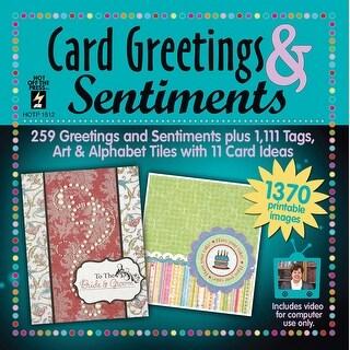 Card Greetings & Sentiments Cd