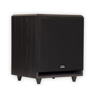 "Theater Solutions SUB10F Home Theater Powered 10"" Subwoofer Surround Sound Front Firing Sub"