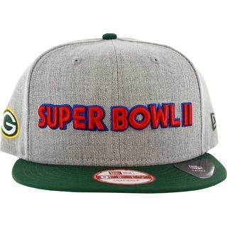 Green Bay Packers Superbowl II Adjustable Hat, S/M|https://ak1.ostkcdn.com/images/products/is/images/direct/8493641d720e93a7cadcda82364d8b329667774f/Green-Bay-Packers-Superbowl-II-Adjustable-Hat%2C-S-M.jpg?impolicy=medium