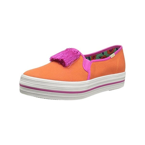 e7c9fd384e8e Shop Keds For Kate Spade Womens Decker Too Loafers Round Toe Two ...