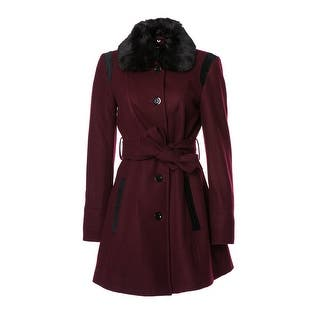 Wool Coat w/ Faux Fur|https://ak1.ostkcdn.com/images/products/is/images/direct/8494fee7fa9f1541497d1157b8c5b194898677f2/APT.-9-Wool-Coat.jpg?impolicy=medium