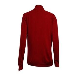 Karen Scott Women's Open 2 Pocket Cardigan Sweater
