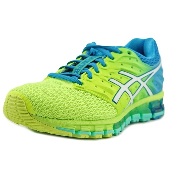 Shop Asics Gel-Quantum 180 2 Women Round Toe Synthetic Green Running ... 32cb2542f5a