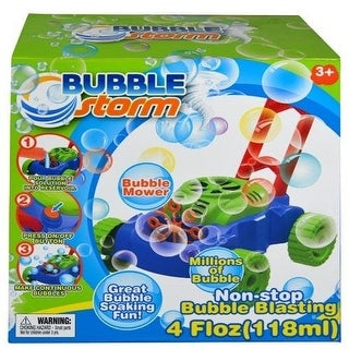 Bubble Storm Bubble Mower with 4oz Bubble