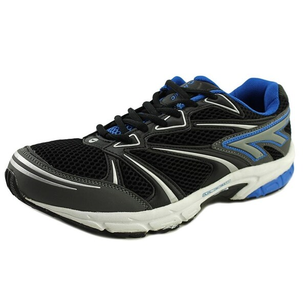 Hi-Tec Phantom Men  Round Toe Synthetic Black Running Shoe