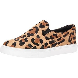 Steve Madden Womens Ecentrcl Fashion Sneakers Cow Hair Animal Print