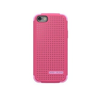 Body Glove - Intermix Case for Apple iPhone 5/5S - Cranberry/Carnation