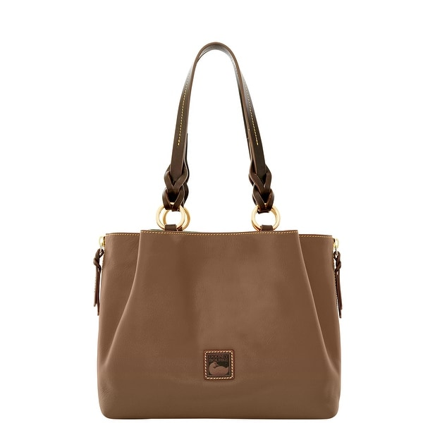 bdd0e4b20da Dooney  amp  Bourke Florentine Large Zip Barlow (Introduced by Dooney  amp   Bourke at
