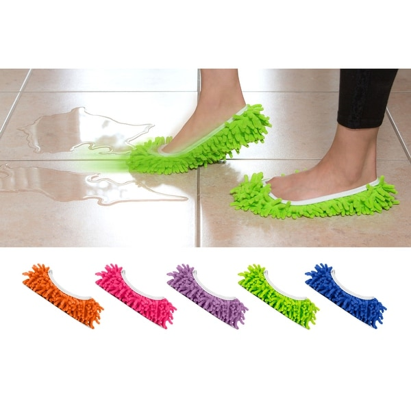 Mop Slippers in 5 Colors