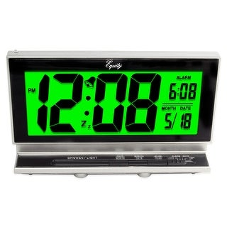 Link to Equity's 2 Inch Digital LCD Alarm Clock With Night Vision Model 30041 Similar Items in Decorative Accessories
