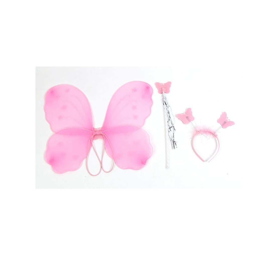 pink fancy dress hair bow headband