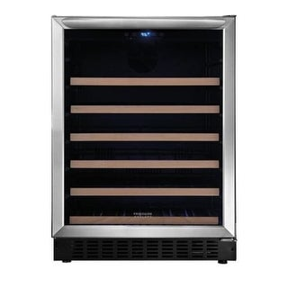 Frigidaire FGWC4633S 24 Inch Wide 5.1 Cu. Ft. Wine Refrigerator with Reversible Door Swing - STAINLESS STEEL