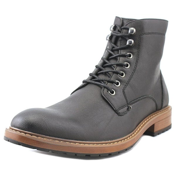 Perry Ellis Gunner Black Boots