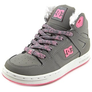 DC Shoes Rebound Wnt Round Toe Leather Skate Shoe