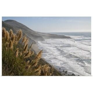 """USA, California, Mendocino Coast"" Poster Print"