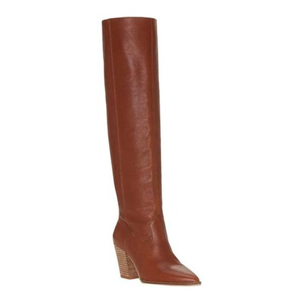 d218b984981 Shop Lucky Brand Women s Azoola Tall Boot Whiskey Leather - Free ...
