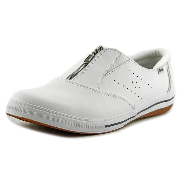 Keds Pacey Women Round Toe Leather White Sneakers