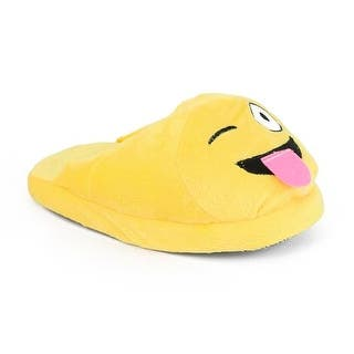 Royal Deluxe Kids Emoji Slippers (Option: Medium)|https://ak1.ostkcdn.com/images/products/is/images/direct/849dc995b19c0b9c048021d4848579cd98696e2d/Royal-Deluxe-Kids-Emoji-Slippers.jpg?impolicy=medium