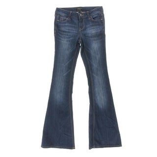 Celebrity Pink Womens Juniors Low Rise Flare Leg Jeans