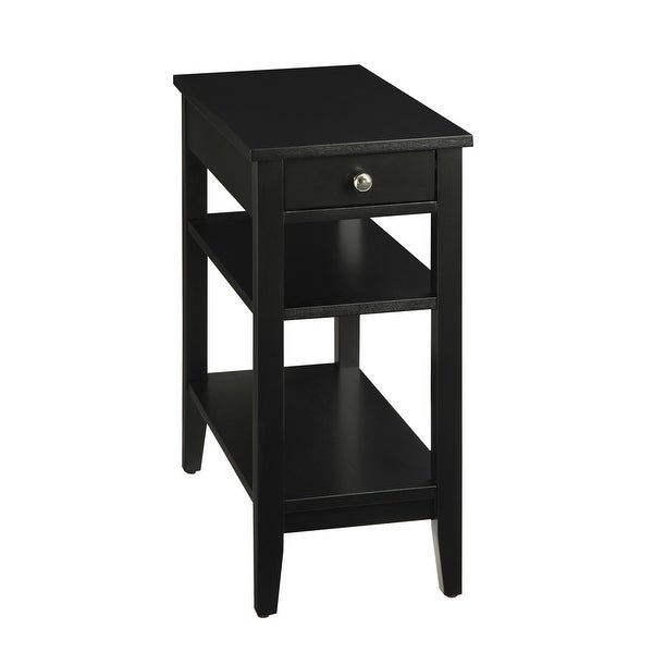 Copper Grove Aubrieta 3-tier Single-drawer End Table. Opens flyout.