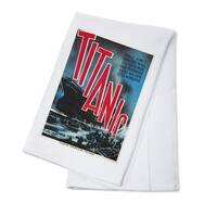 Titanic Sweden c. 1943 - Vintage Advertisement (100% Cotton Towel Absorbent)