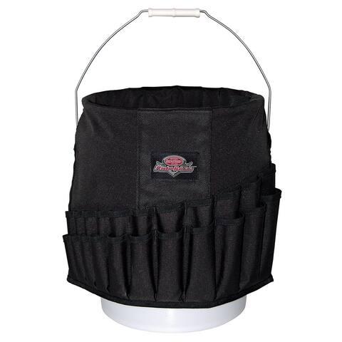 Bucket Boss AB30020 Wrench Boss Bucket Organizer, Black, 44 pocket