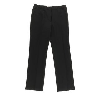 Kasper Womens Kate Dress Pants Classic Fit Straight Leg