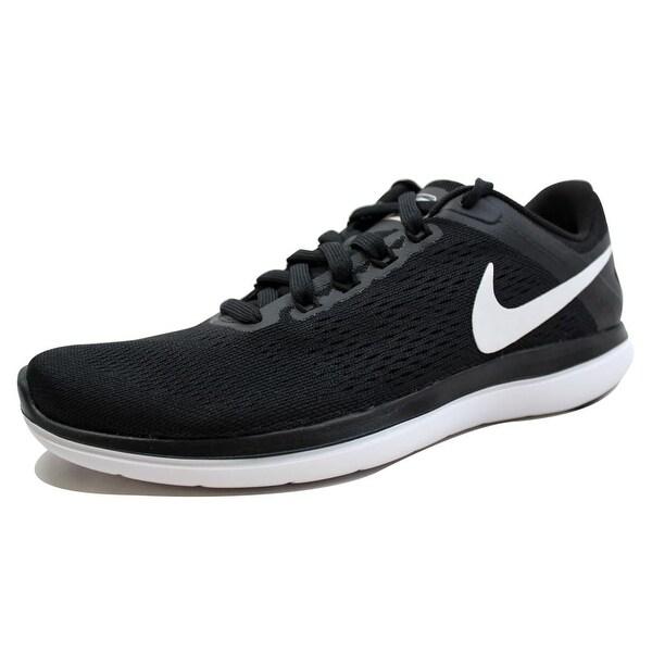 738e405e8e68 ... Men s Athletic Shoes. Nike Men  x27 s Flex 2016 RN Black White-Cool Grey  nan