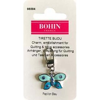 Blue Butterfly - Bohin Decorative Charm