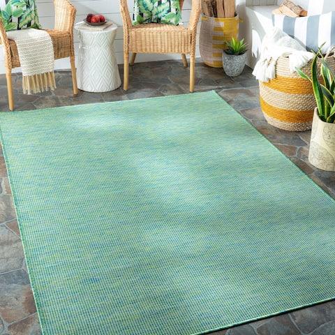 Rowena Indoor / Outdoor Heathered Area Rug