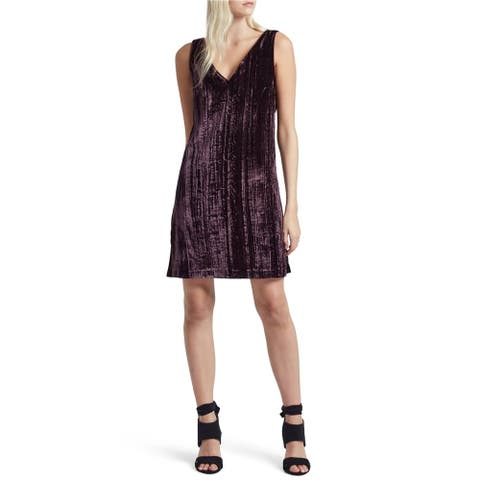 French Connection Womens Theresa Velvet Bodycon Dress