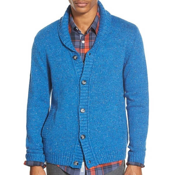 bc00cde9a Shop Penguin NEW Blue Vallarta Mens Size XL Shawl Collar Cardigan Sweater -  Free Shipping Today - Overstock - 18511469