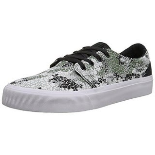 DC Mens Trase X DPM Canvas Printed Skate Shoes - 6
