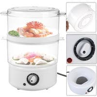 Costway Electric Kitchen Food Steamer Steaming Bowl Cooking Meal Vegetable Veggie Home