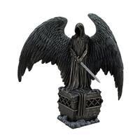 Guardian Angel by LA Williams Bronze Finish Dark Angel Statue