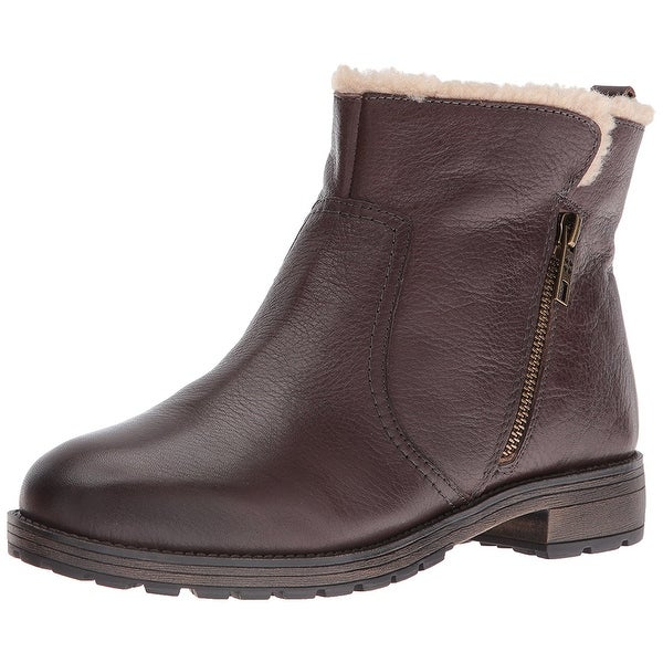 Naturalizer Womens Tamsie Leather Closed Toe Ankle Fashion Boots