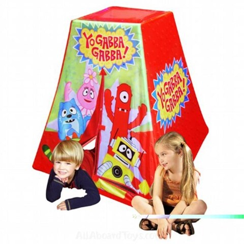 Kid apos;s Adventure Yo Gabba Gabba Play Structure Play Tent