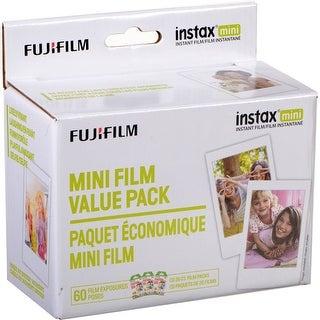 FujiFilm Mini Film Value Pack for instax mini Cameras (60 Exposures)