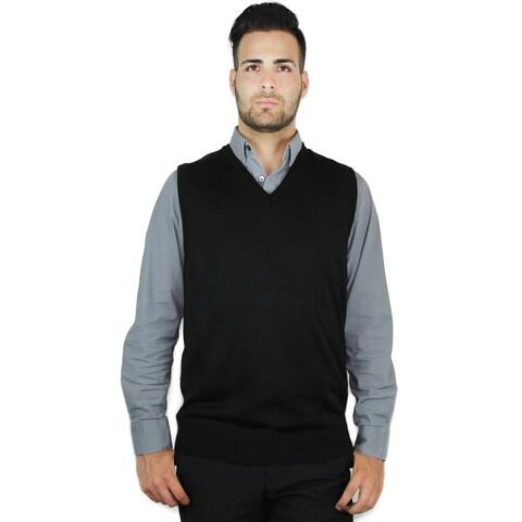 Men's Classic Solid Color Sweater Vest (SV-243)