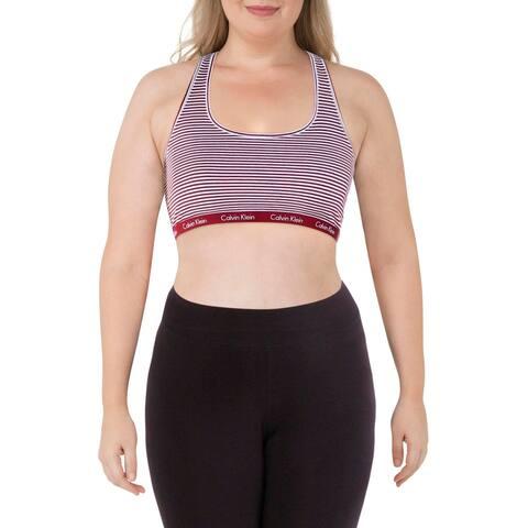 Calvin Klein Womens Sports Bra Fitness Running - XL