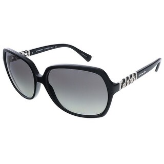 Coach HC8155Q 500211 Black Square sunglasses