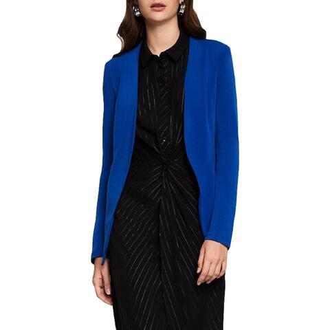 BCBGeneration Womens Blazer Tuxedo Asymmetrical